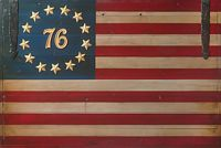 The Spirit of ´76 Flag<br> OPEN EDITION CANVAS