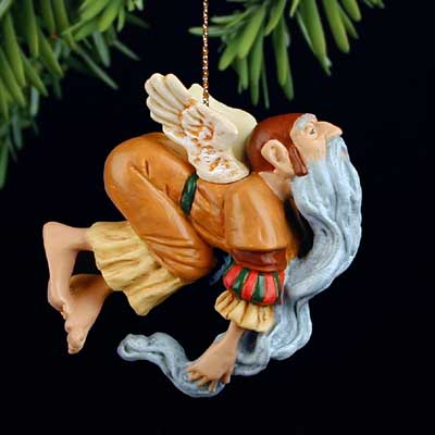 James C. Christensen - ANCIENT ANGEL -  ORNAMENT Published by the Greenwich Workshop