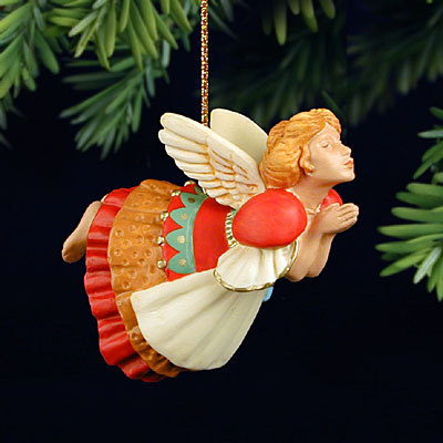 James C. Christensen - THE CHRISTMAS ANGEL -  ORNAMENT Published by the Greenwich Workshop