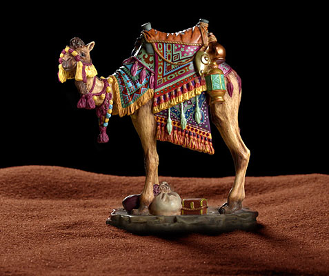 James C. Christensen - DARIUS THE CAMEL -  OPEN EDITION PORCELAIN Published by the Greenwich Workshop
