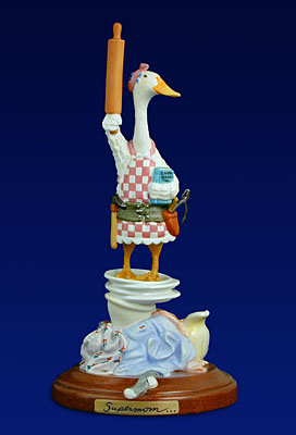 Will Bullas - SUPERMOM -  OPEN ED. PORCELAIN Published by the Greenwich Workshop