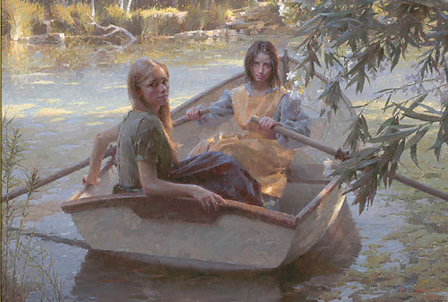 Morgan Weistling - Serenity -  MASTERWORK CANVAS EDITION Published by the Greenwich Workshop