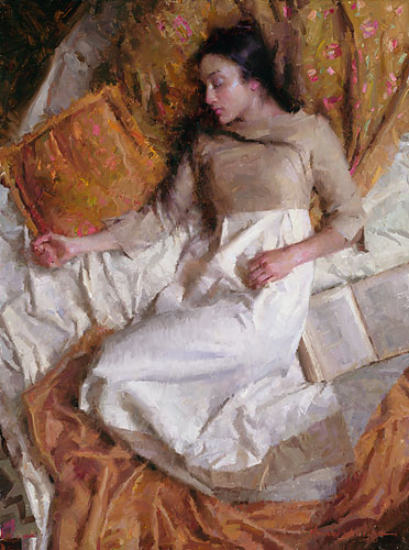 Morgan Weistling - Dreams in Gold -  LIMITED EDITION CANVAS Published by the Greenwich Workshop