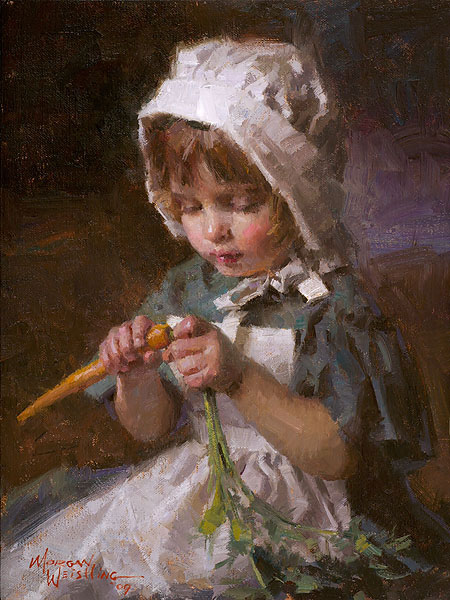 Morgan Weistling - Jessica -  SMALLWORK CANVAS EDITION Published by the Greenwich Workshop