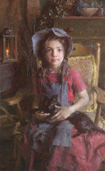 Morgan Weistling - Confidante -  LIMITED EDITION CANVAS Published by the Greenwich Workshop