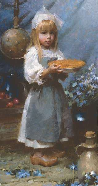 Morgan Weistling - Dutch Apple Pie -  SMALLWORK CANVAS EDITION Published by the Greenwich Workshop