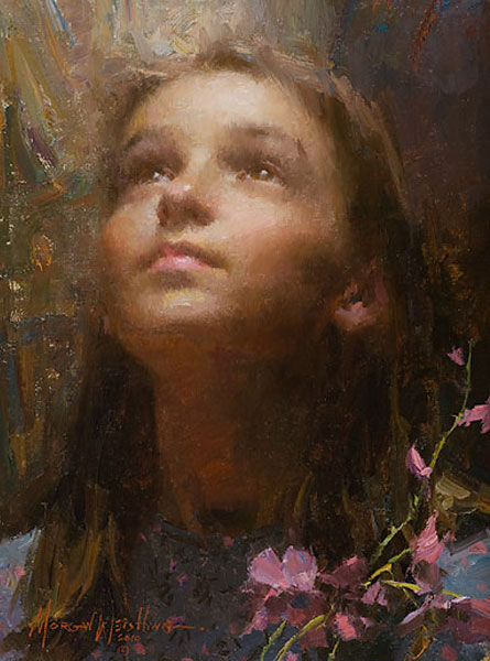 Morgan Weistling - Joy -  SMALLWORK CANVAS EDITION Published by the Greenwich Workshop