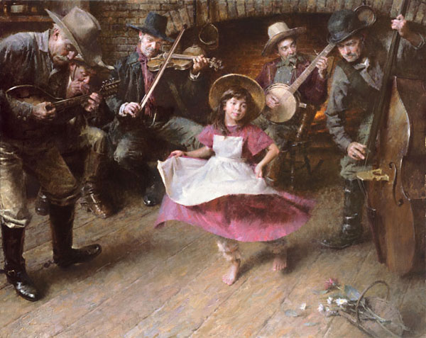 Morgan Weistling - The Dance -  MASTERWORK CANVAS EDITION Published by the Greenwich Workshop