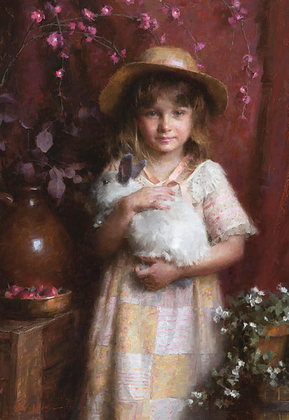 Morgan Weistling - Alice -  LIMITED EDITION CANVAS Published by the Greenwich Workshop