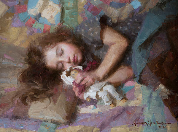 Morgan Weistling - Carolina -  SMALLWORK CANVAS EDITION Published by the Greenwich Workshop