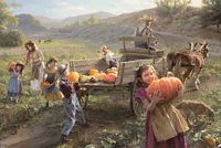 End of harvest&lt;br&gt; LIMITED EDITION PRINT