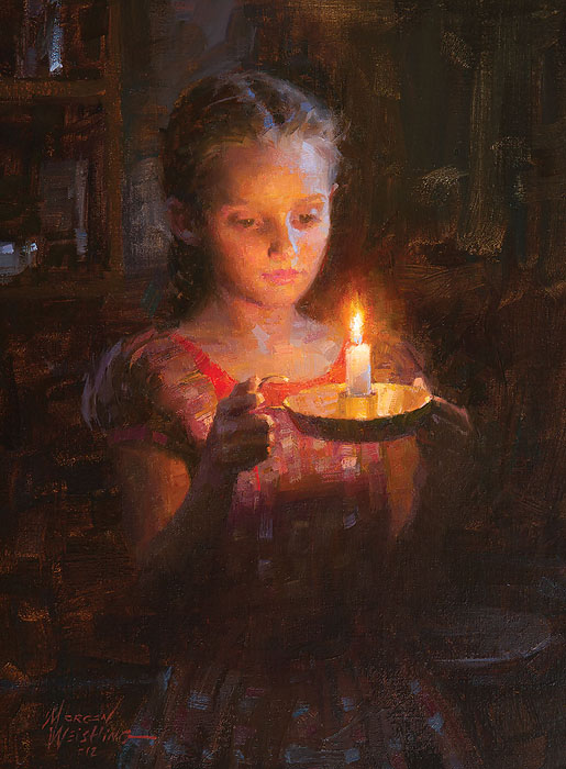 Morgan Weistling - Glow -  LIMITED EDITION CANVAS Published by the Greenwich Workshop
