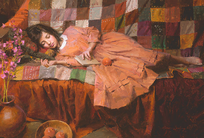 Morgan Weistling - Patchwork Dreams -  LIMITED EDITION CANVAS Published by the Greenwich Workshop
