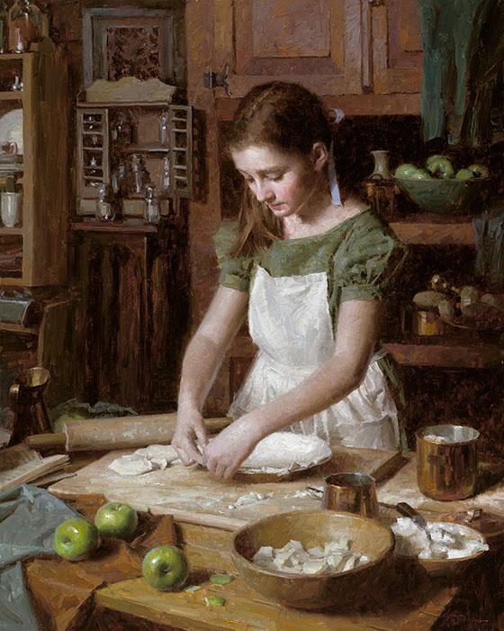 Morgan Weistling - Apple Pie -  LIMITED EDITION CANVAS Published by the Greenwich Workshop