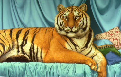 Tom Palmore - SHEEBA -  LIMITED EDITION CANVAS Published by the Greenwich Workshop