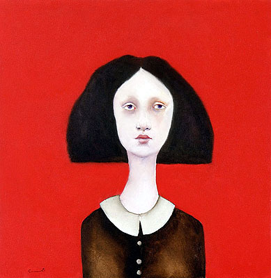 Cassandra Barney - DORA -  LIMITED EDITION CANVAS Published by the Greenwich Workshop