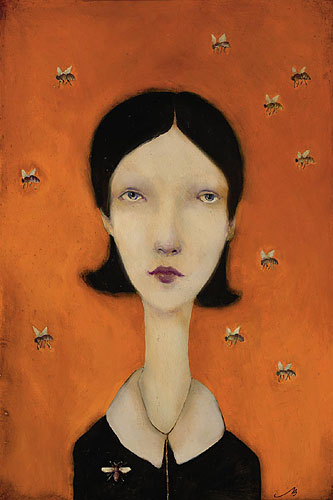 Cassandra Barney - Queen Bee -  LIMITED EDITION CANVAS Published by the Greenwich Workshop