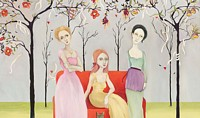 Three Graces&lt;br&gt; LIMITED EDITION CANVAS