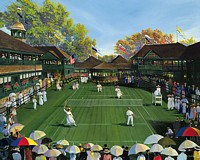 Newport Tennis<br> LIMITED EDITION CANVAS