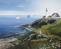 Portland Head Lighthouse<br> LIMITED EDITION CANVAS