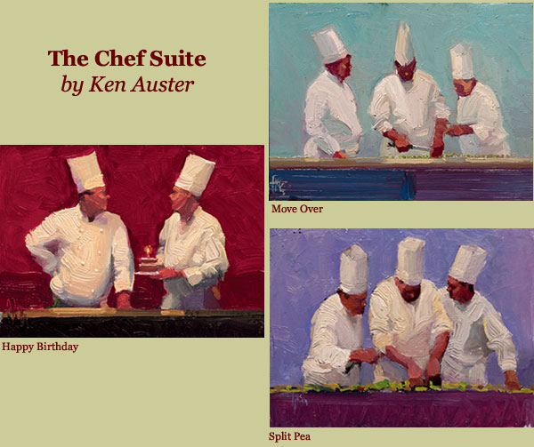 Ken Auster - Chef Suite -  L.E.CANVAS Published by the Greenwich Workshop