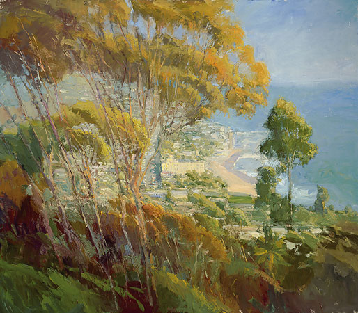 Ken Auster - Forest from the Trees -  MASTERWORK CANVAS EDITION Published by the Greenwich Workshop