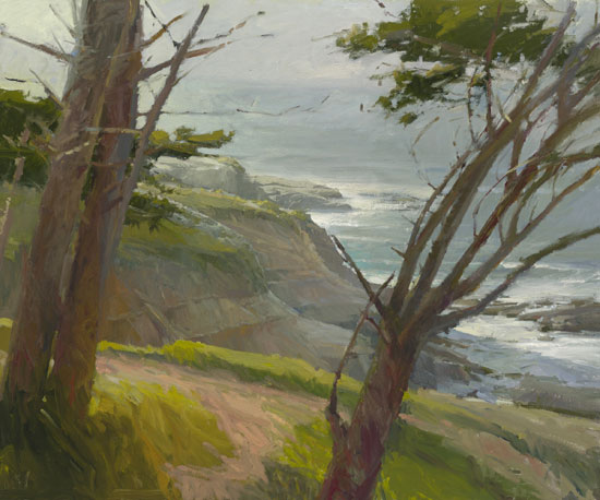Ken Auster - La Jolla Light -  MASTERWORK CANVAS EDITION Published by the Greenwich Workshop