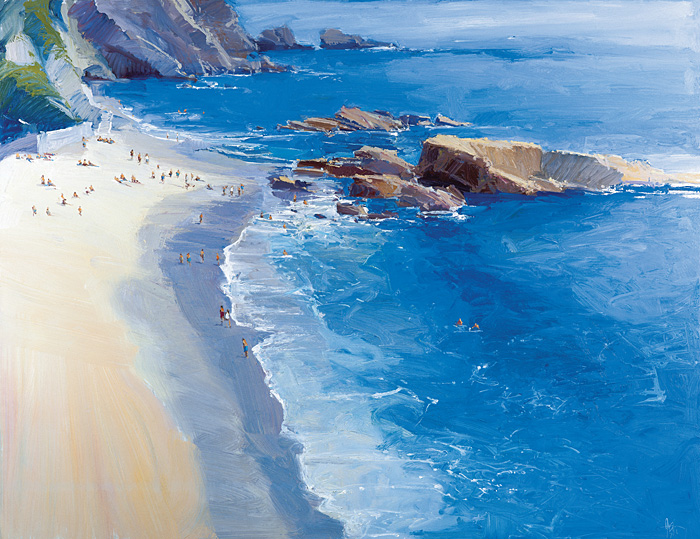 Ken Auster - Woods Cove -  LIMITED EDITION CANVAS Published by the Greenwich Workshop
