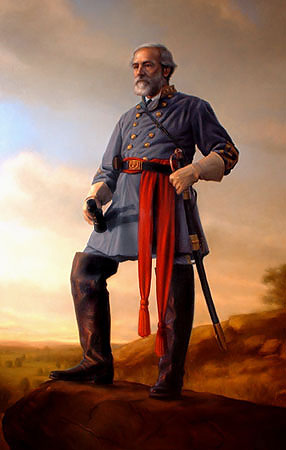 GENERAL ROBERT E. LEE<br> MASTERWORK CANVAS EDITION