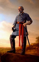 GENERAL ROBERT E. LEE<br> LIMITED EDITION CANVAS