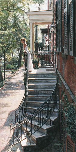 Steve Hanks - A New Beginning -  LIMITED EDITION PRINT Published by the Greenwich Workshop