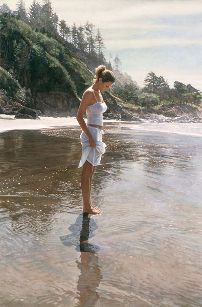 Steve Hanks - New Shoreline -  LIMITED EDITION PRINT Published by the Greenwich Workshop