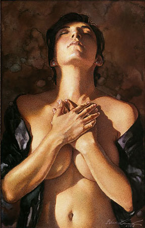 Steve Hanks - To Touch a Heart -  LIMITED EDITION CANVAS Published by the Greenwich Workshop