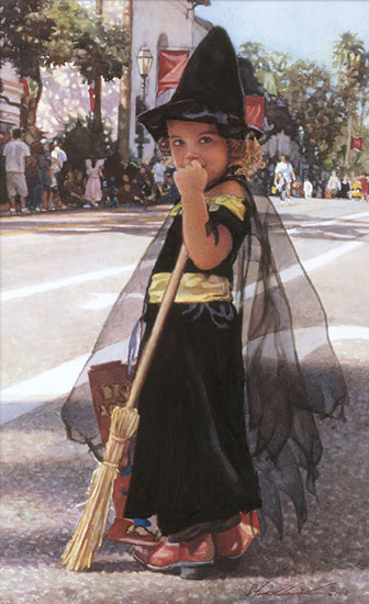 Steve Hanks - Bewitching -  LIMITED EDITION CANVAS Published by the Greenwich Workshop