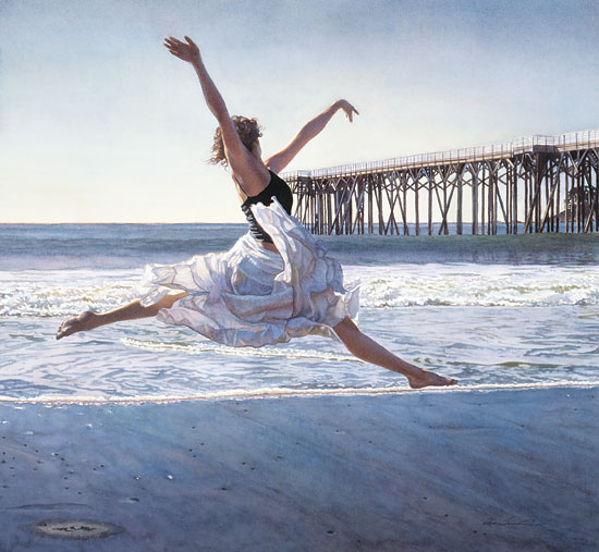 Steve Hanks - To Dance Before the Sea & Sky -  LIMITED EDITION PRINT Published by the Greenwich Workshop