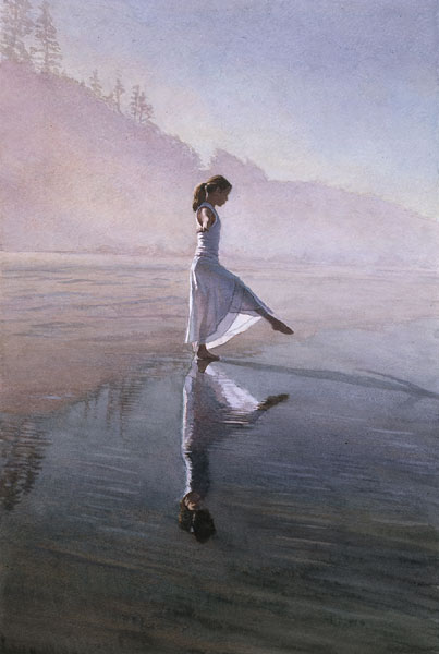 Steve Hanks - Dancing on the Shore (1) -  LIMITED EDITION CANVAS Published by the Greenwich Workshop