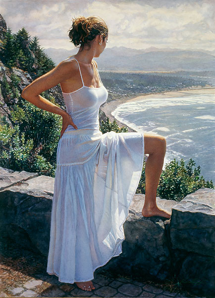 Steve Hanks - Scenic View -  LIMITED EDITION PRINT Published by the Greenwich Workshop