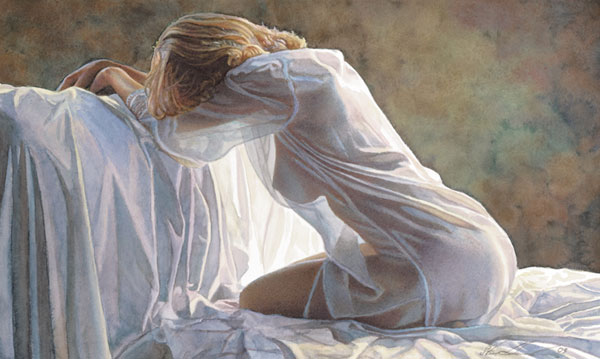 Steve Hanks - Forever A Mystery -  LIMITED EDITION PRINT Published by the Greenwich Workshop