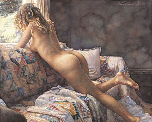 Steve Hanks - Interior View -  LIMITED EDITION PRINT Published by the Greenwich Workshop
