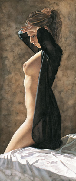 Steve Hanks - Her Time -  LIMITED EDITION PRINT Published by the Greenwich Workshop