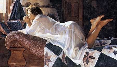 Steve Hanks - Matters of the Heart -  LIMITED EDITION PRINT Published by the Greenwich Workshop