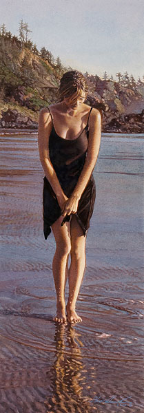 Steve Hanks - Gentle Tide -  LIMITED EDITION PRINT Published by the Greenwich Workshop