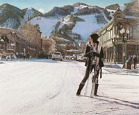 Aspen Winter<br> LIMITED EDITION CANVAS