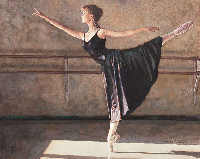 Steve Hanks - In the Spotlight of the Sun -  LIMITED EDITION PRINT Published by the Greenwich Workshop