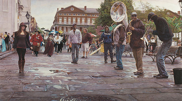 Steve Hanks - New Orleans:Celebrating Life, Death and the Pursuit of Happiness -  LIMITED EDITION PRINT Published by the Greenwich Workshop
