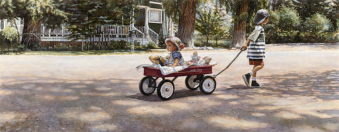 Steve Hanks - The Journey is the Goal -  ANNIVERSARY EDITION Published by the Greenwich Workshop