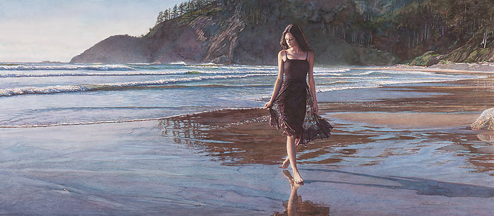 Steve Hanks - Northwest Coastline -  LIMITED EDITION CANVAS Published by the Greenwich Workshop