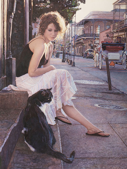 """Companions of the Big Easy"" by Steve Hanks"