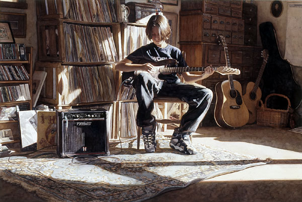 Steve Hanks - It´s His Time Now -  LIMITED EDITION PRINT Published by the Greenwich Workshop