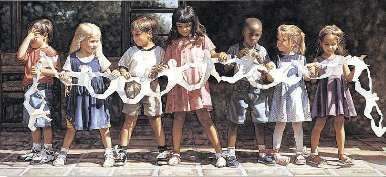 Steve Hanks - We are Bound Together -  LIMITED EDITION PRINT Published by the Greenwich Workshop